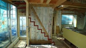 スチール階段