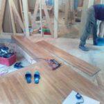玄関ホールの床材のみ、高額のものを選定