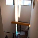 化粧梁、スチール製作階段