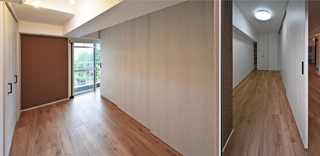 マンションフルリフォームを低額に神奈川で設計した実例