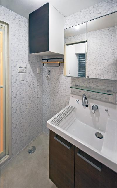 マンションの洗面室をリフォーム