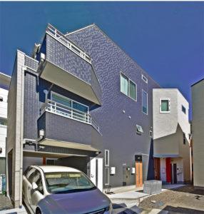 東京でローコストに建てた賃貸併用住宅