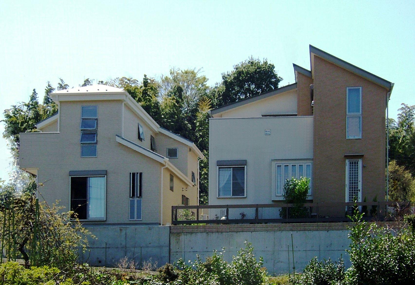 がけ条例で設計した家