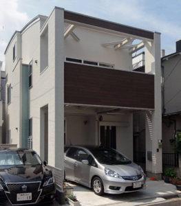 デザイン住宅を神奈川で建てた実例