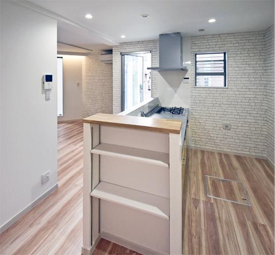 神奈川の地域性を知り尽くした滝沢設計のローコスト住宅が設計したキッチン