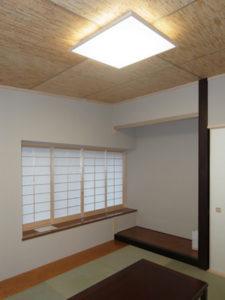 神奈川県での混構造のRC部分の和室の実例