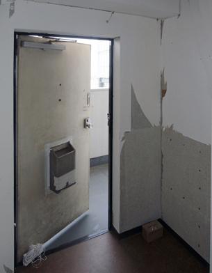 以前は、ただ外に出る為のドアでした