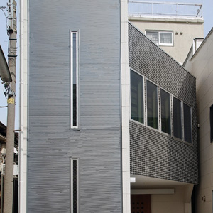 東京の狭小住宅